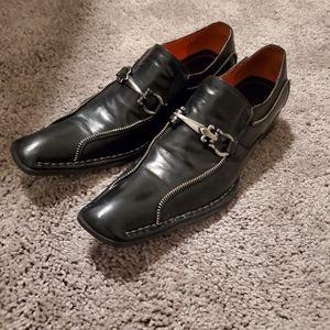 Men's Robert Wayne Leather Shoes | Sz. 9 | GUC